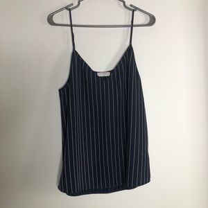 Babaton pinstripes Camisole top size large